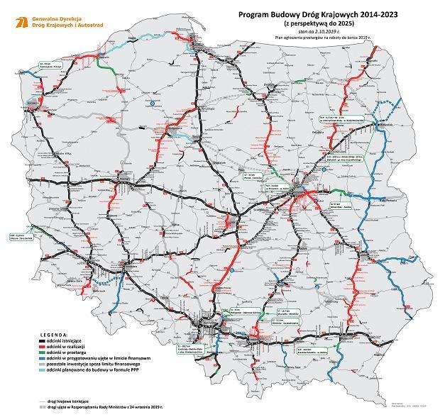 Plan ogłoszenia przetargów do końca 2019 r.