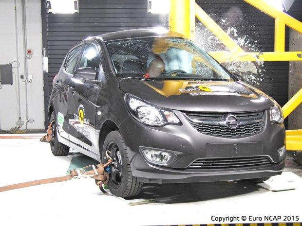Opel Karl - test zderzeniowy