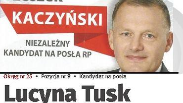 Wybory parlamentarne 2019. Z listy PSL w okręgu gdańskim kandydują do Sejmu Leszek Kaczyński i Lucyna Tusk