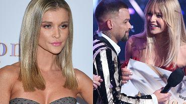 Joanna Krupa, Kasia Szklarczyk, Michał Piróg - finał 'Top Model'