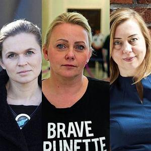 Barbara Nowacka, Iwona Hartwich, Hanna Gill-Piatek