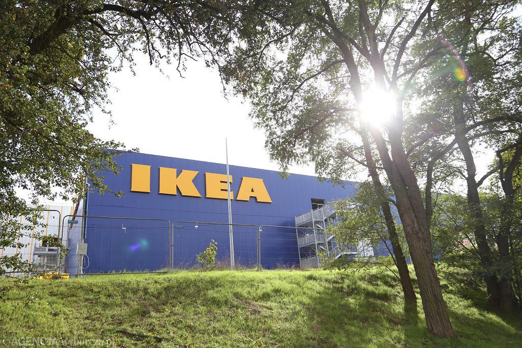 Sklep IKEA w Szczecinie w budowie