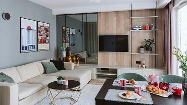 Mieszkanie w Gdańsku - delikatne barwy i morskie akcenty