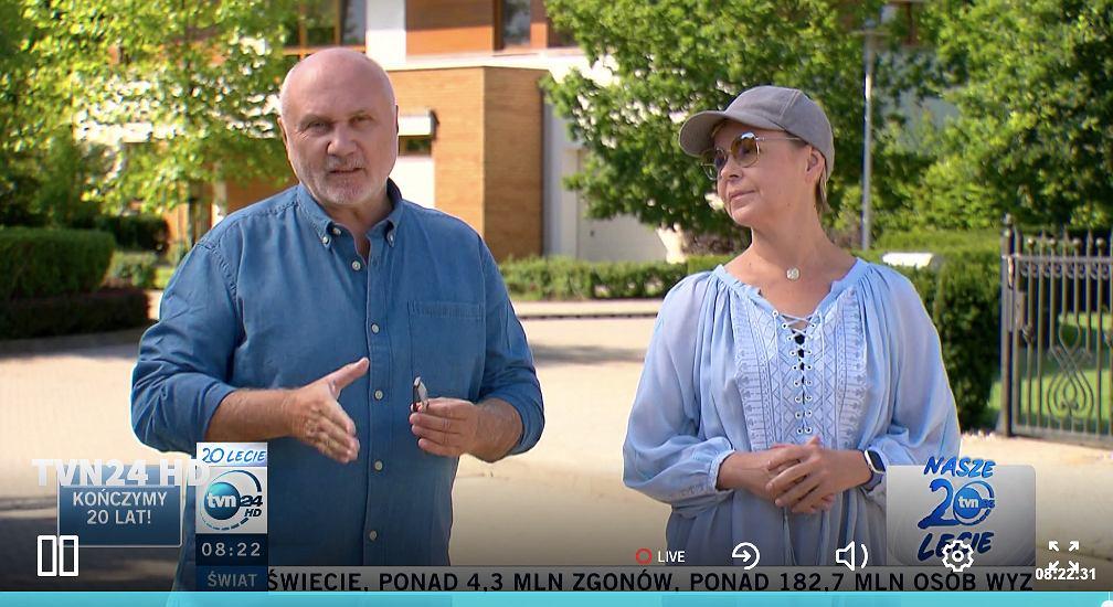 Justyna Pochanke, Adam Pieczyński
