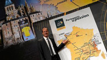 Christian Prudhomme prezentuje trasę Tour de France 2016