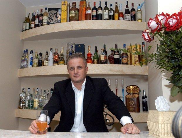 Piotr Misztal (poseł Samoobrony) w swoim domu w Łodzi w 2005 roku.