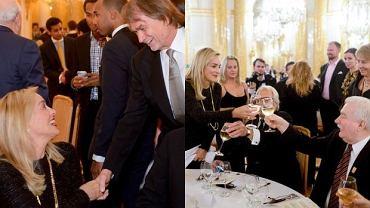 Sharon Stone, Lech Wałęsa, Jan Kulczyk