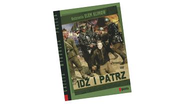 Okładka wydania DVD filmu 'Idź i patrz'.