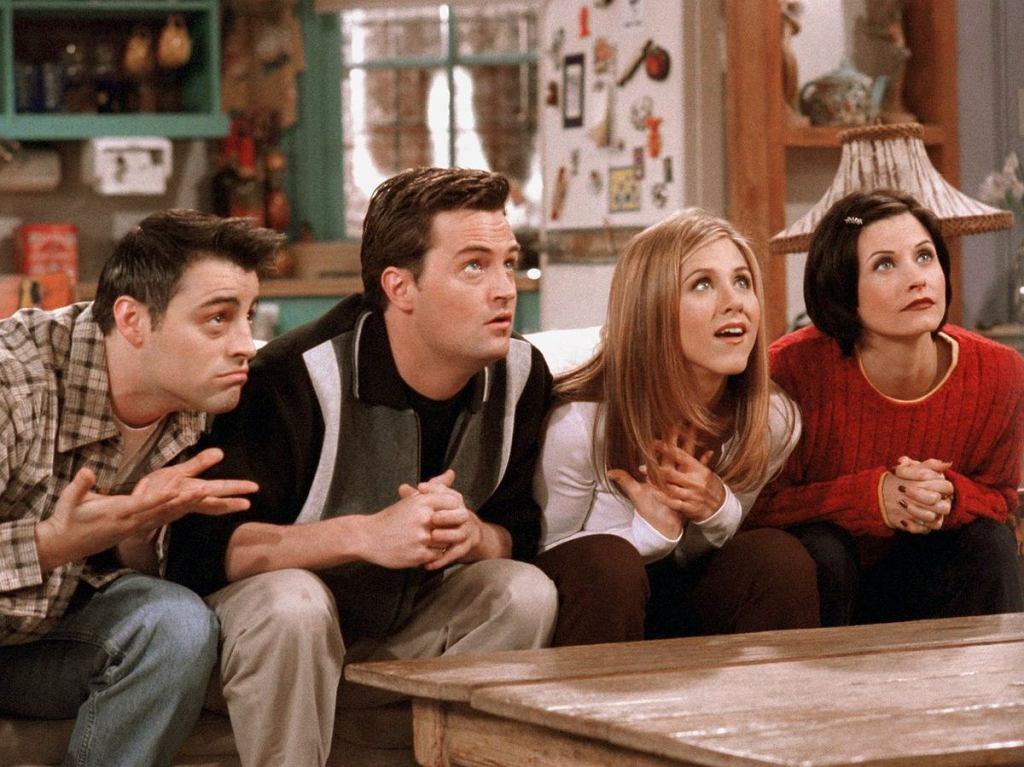 kadr z serialu Przyjaciele