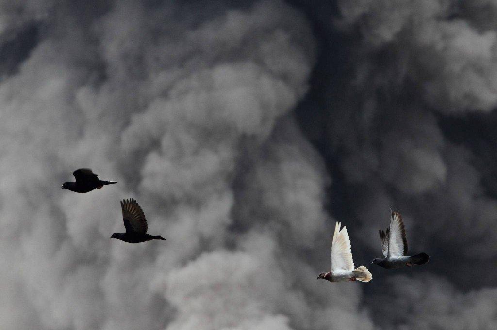 30 erupcji wulkanu Sinabung w Indonezji