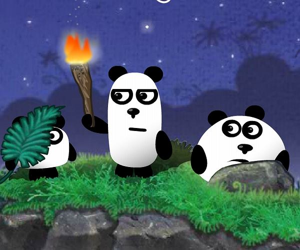 Pandy trzy