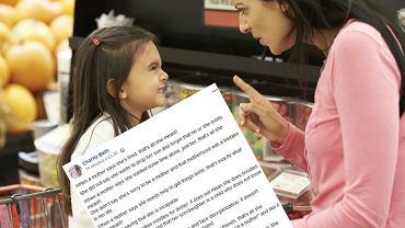 Matka dwójki dzieci zaapelowała za pośrednictwem Facebooka o to, żeby nie oceniać jej zbyt pochopnie