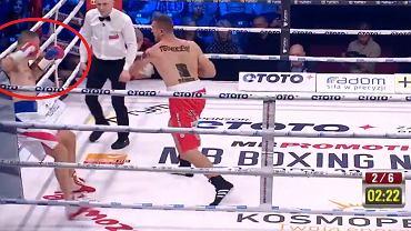 Krzysztof Zimnoch pokonany na gali w Radomiu
