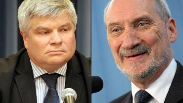 Maciej Lasek, Antoni Macierewicz