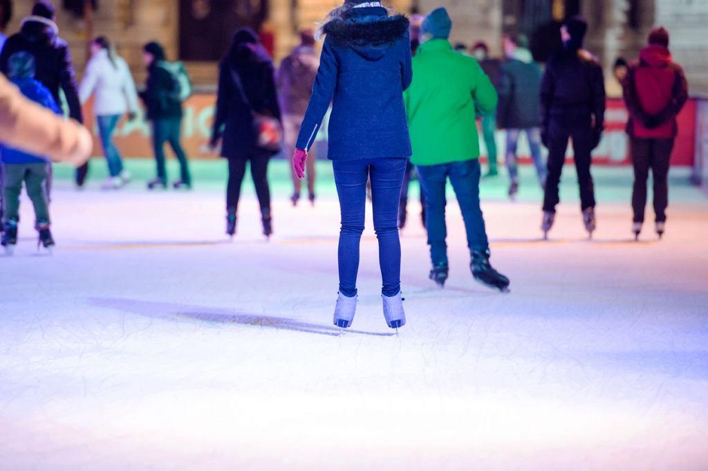 Ferie zimowe w Gdańsku? Warto wybrać się m.in. na lodowisko w Hali Olivia.