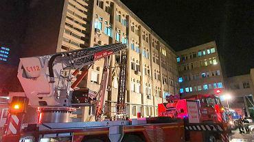 Rumunia. Pożar szpitala w mieście Piatra Neamt