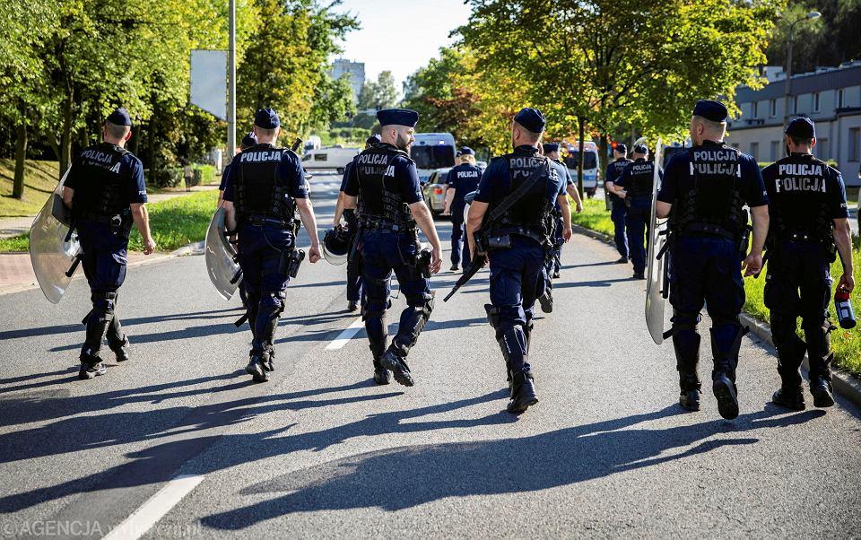 Policja w Katowicach