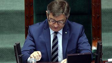 Marek Kuchciński podczas posiedzenia Sejmu, 08.06.2016