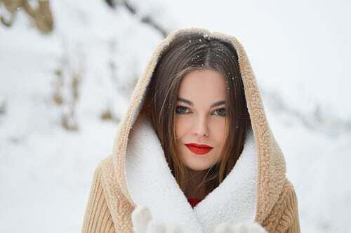 Modny makijaż świąteczny.