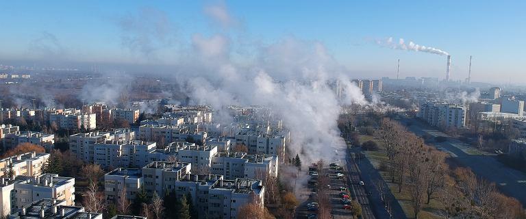 Warszawa wygląda jak po erupcji wulkanu. Awaria ciepłownicza przy ul. Powsińskiej