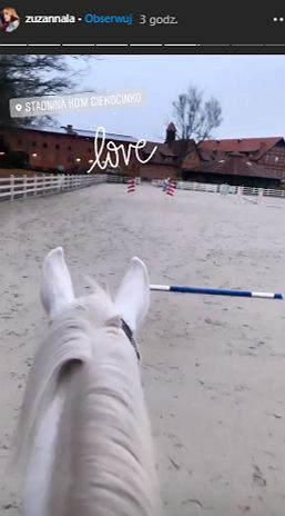 Zuzanna Pactwa na koniu