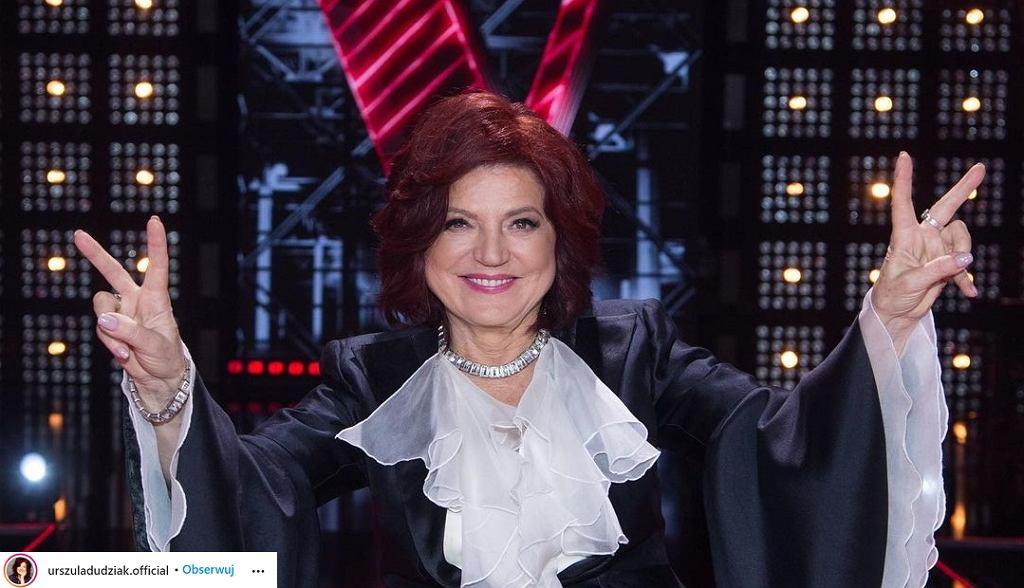 Urszula Dudziak wsparła Strajk Kobiet podczas finału The Voice of Poland? Tego elementu stylizacji musiała się pozbyć
