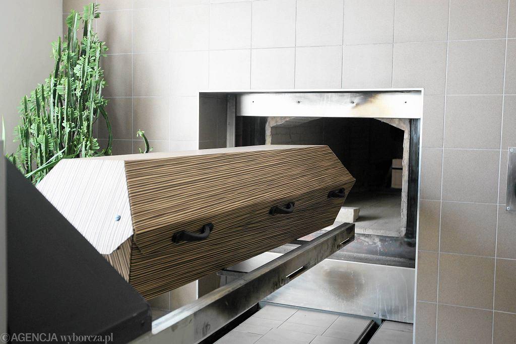 Krematorium. Zdjęcie ilustracyjne.