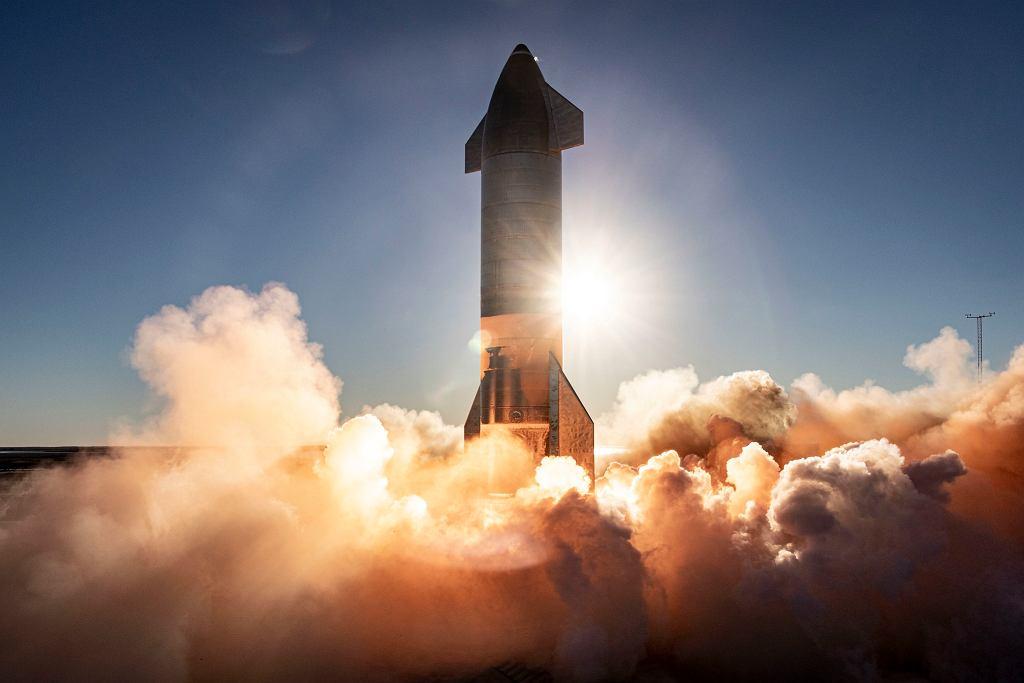 Start Starship SN8 do pierwszego i ostatniego lotu