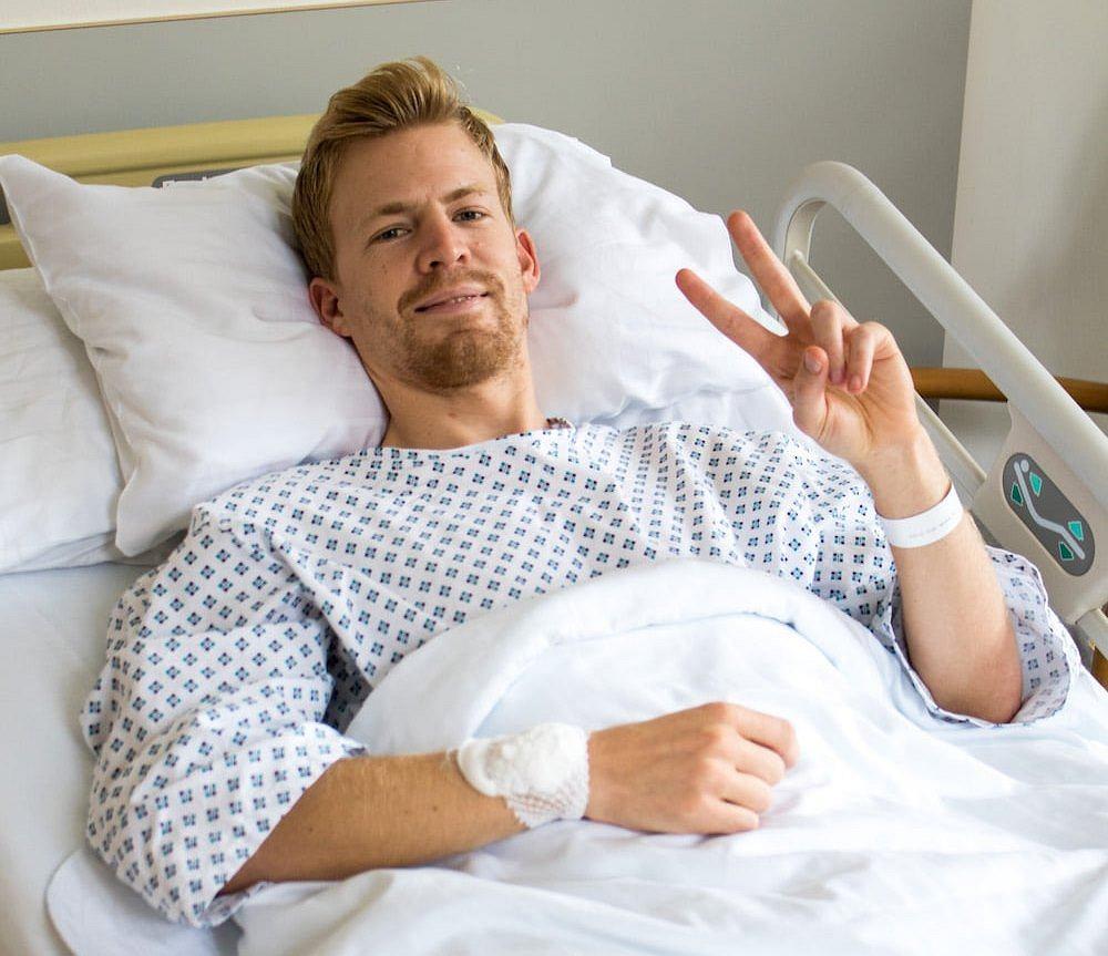 Michael Hayboeck musiał poddać się operacji