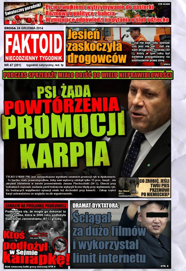 Faktoid, 24 grudnia 2014, nr 47 (201) -  - Faktoid