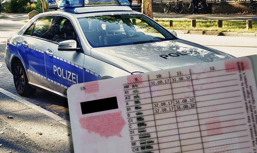 Niemiecka policja przeprowadziła zaskakującą kontrolę drogową