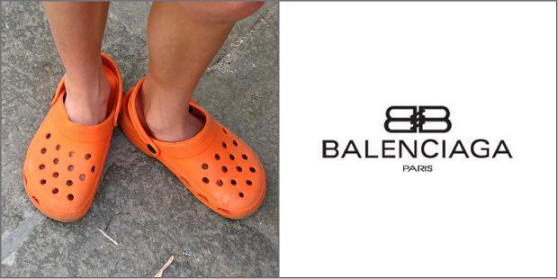 Crocsy znów na wybiegu! Wersję na megaplatformie proponuje Balanciaga. Ktoś to będzie nosił?