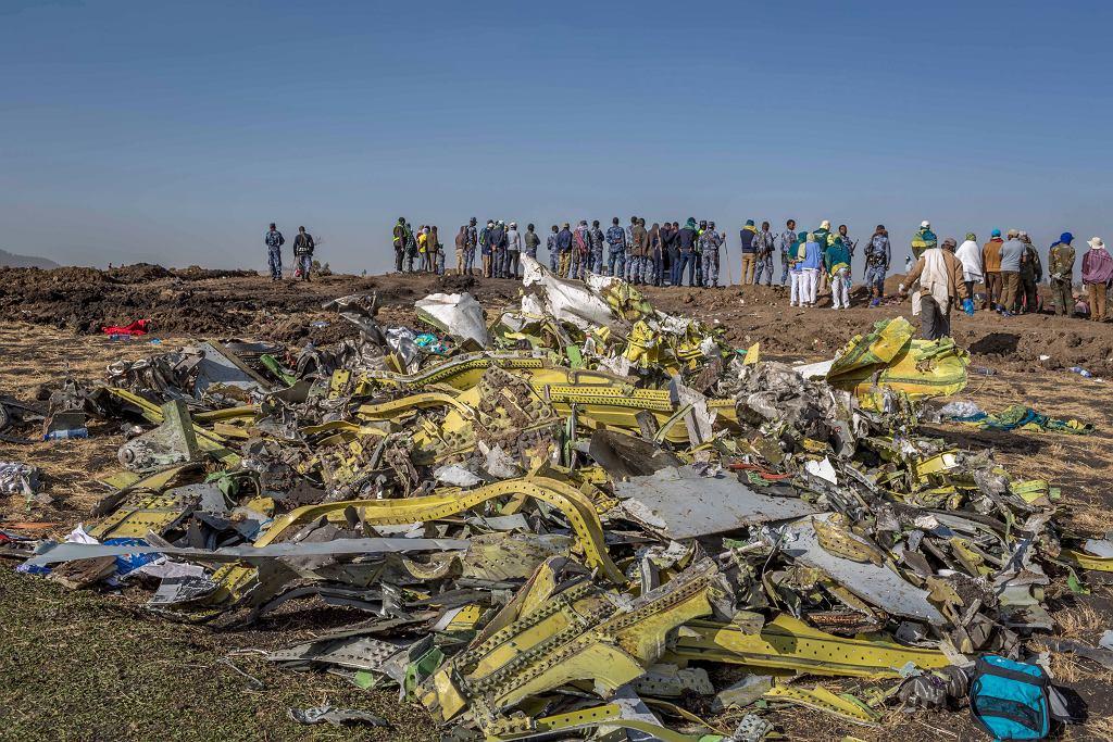 Etiopia. Katastrofa samolotu Ethiopian Airlines
