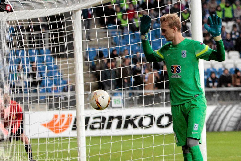 Lech Poznań - FC Basel 0:1. Jasmin Burić