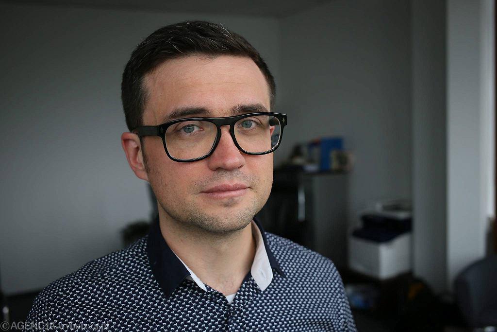 Dr Marcin Smolik, dyrektor Centralnej Komisji Egzaminacyjnej