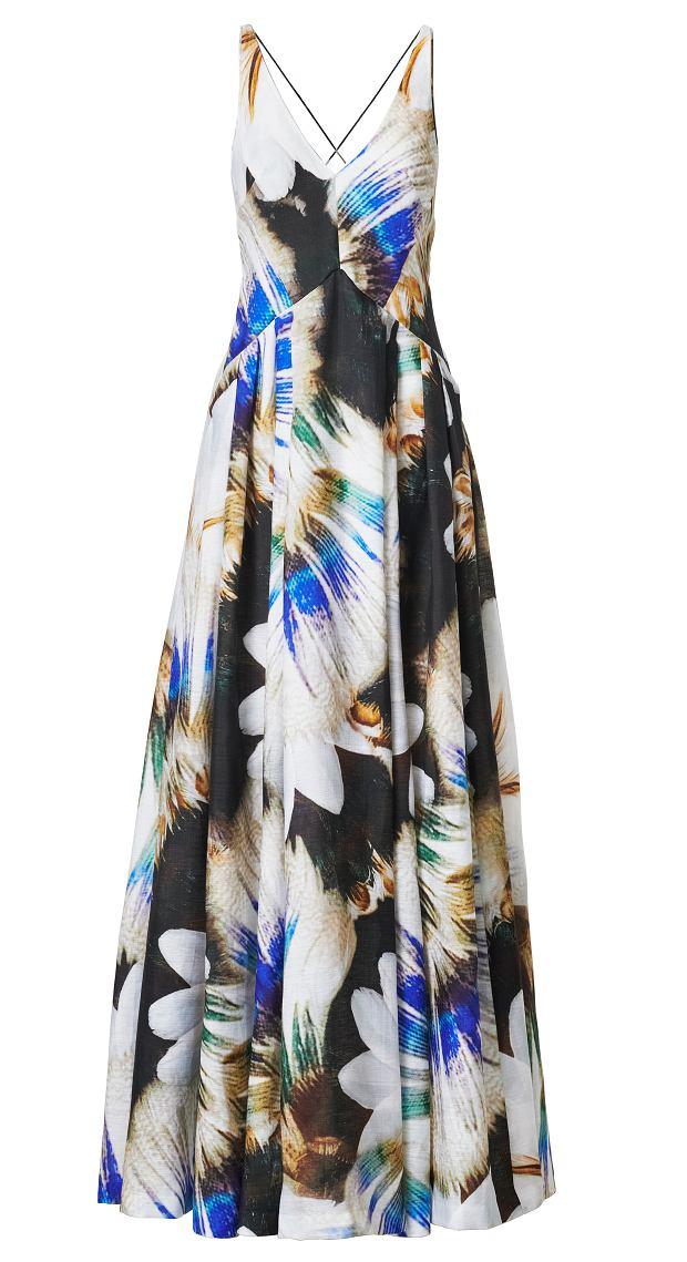Maxi dress z kolekcji H&M Conscious Exclusive 2019