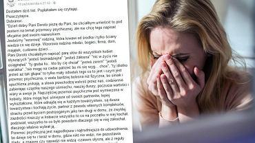 Ofiara przemocy fizycznej opowiada, jak wygląda jej życie