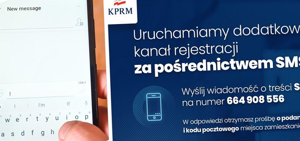 Nowy kanał komunikacji w sprawie szczepień - SMS