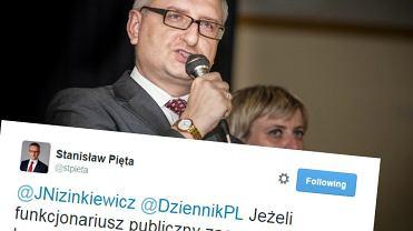 Stanisław Pięta o udziale funkcjonariuszy państwowych w WOŚP