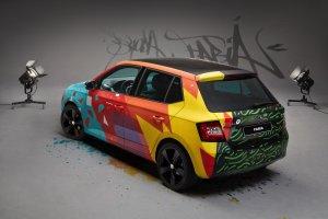Skoda Fabia jak BMW Art Cars