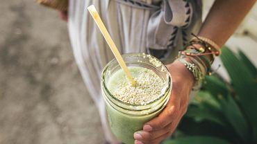 Zielone smoothie z jarmuzu