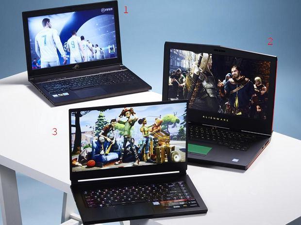 Nasz przegląd: laptopy gamingowe