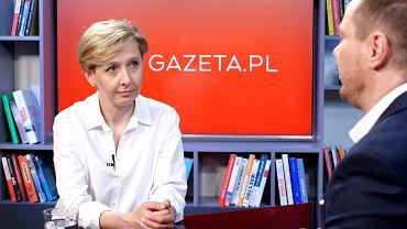 Anna Materska-Sosnowska w rozmowie Gazeta.pl