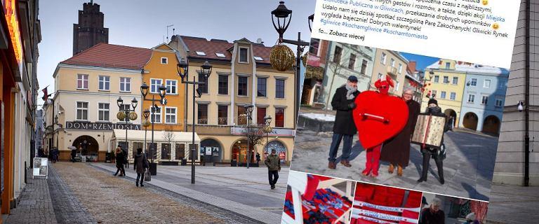 Gliwice. Prezydent z żoną bez maseczek na Rynku. I wrzuca zdjęcie do internetu