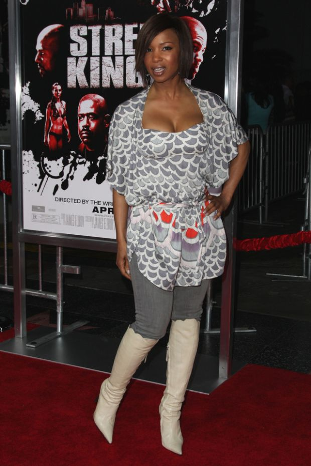 "04/03/2008 - Elise Neal - ""Street Kings"" Hollywood Premiere - Arrivals - Grauman's Chinese Theater - Hollywood, CA, USA  - Keywords:  - False -  - Photo Credit: Glenn Harris / PR Photos - Contact (1-866-551-7827)"