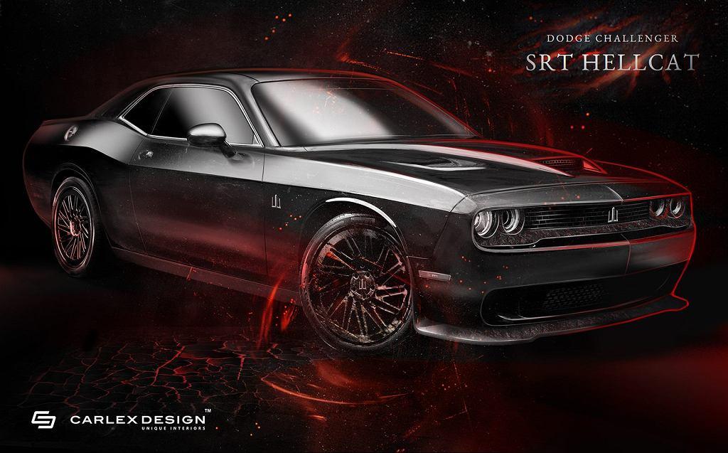 Dodge Challenger Hellcat od Carlex Design