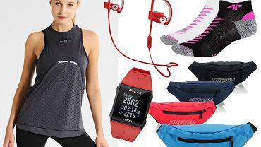 Prezenty dla biegaczy - akcesoria / kolaż redakcja, materiały partnerów