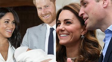 Meghan Markle, książę Harry, Archie, księżna Kate, książę William