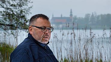 Marek Mielewczyk,  ofiara pedofila ks. Andrzeja Srebrzyńskiego, bohater filmie braci Sekielskich 'Tylko nie mówi nikomu'