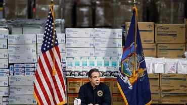 Andrew Cuomo, gubernator Nowego Jorku.